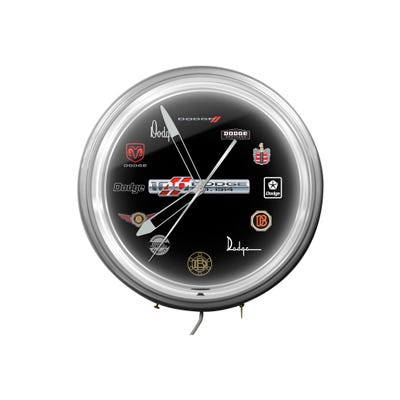 "20"" Dodge 100th Neon Clock"