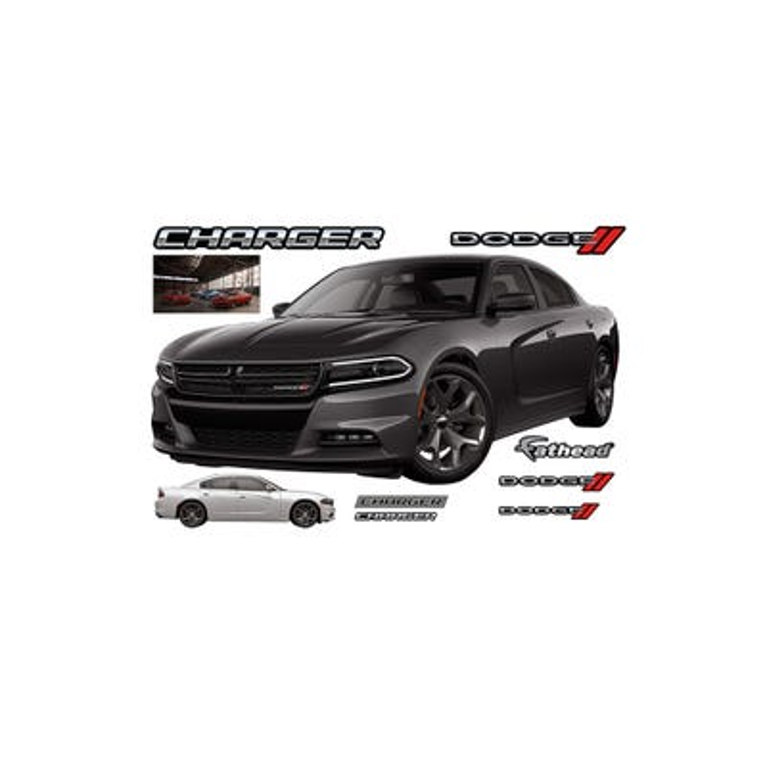 2015 Dodge Challenger SRT® Hellcat Fathead