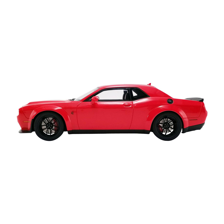 2019 Dodge Challenger SRT Hellcat Redeye Widebody in 1:18 Scale by GT Spirit