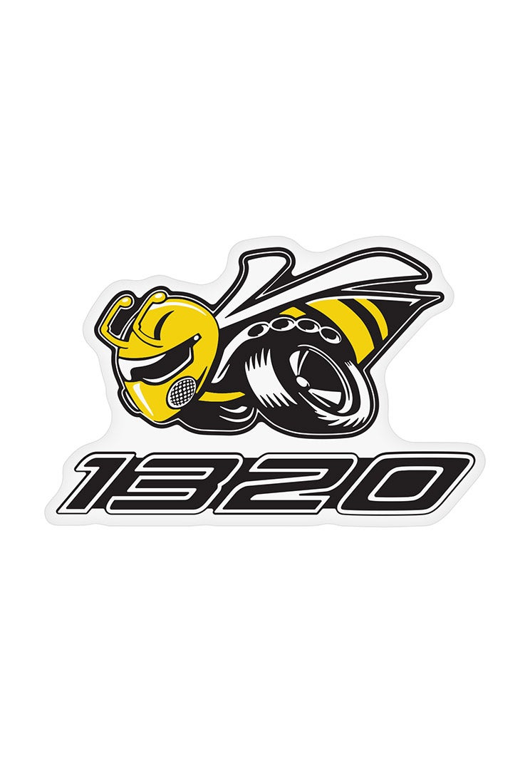 New Dodge Angry Bee 1320 Decal Vinyl Decal New