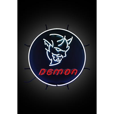 Demon Neon Sign