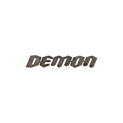 Demon Steel Sign