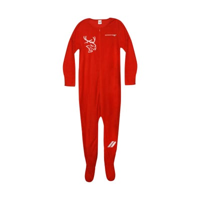 Adult Holiday Hellcat Reindeer Onesie