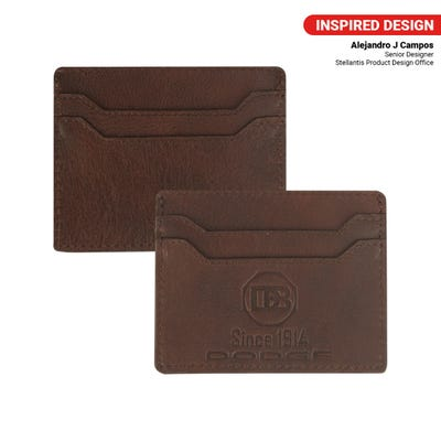 Brothers Leather Card Holder