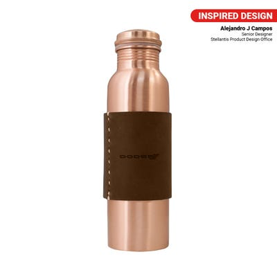 Brothers 32 oz  Copper Water Bottle