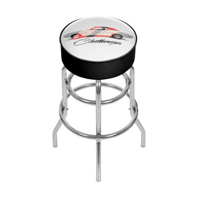 Challenger Padded Swivel Bar Stool