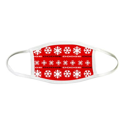 Holiday 2 Ply Sublimated Face Mask