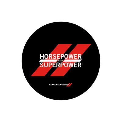 Horsepower is our Superpower Decal