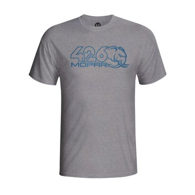 Men's Gray Hellephant T-shirt