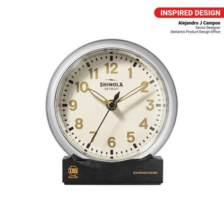 Brothers Shinola Runwell Desk Clock