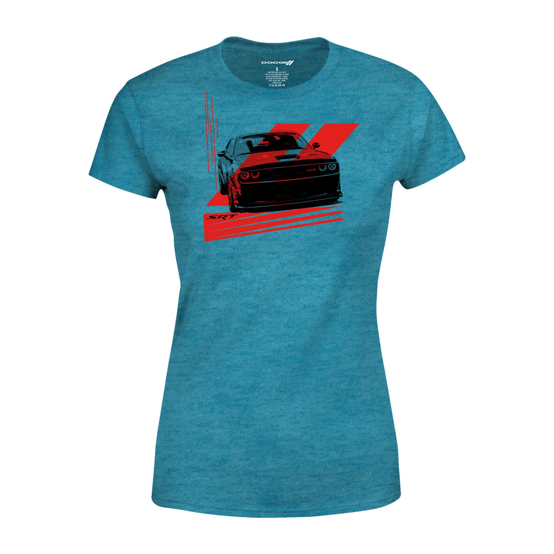 Women's Hellcat Turquoise T-shirt