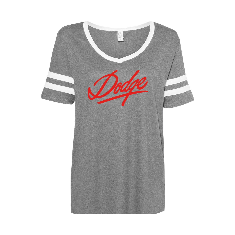 Women's Vintage Jersey Varsity T-shirt